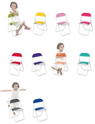 Pantone - Folding chair for kids, designed by Selab for Seletti. http://www.madeindesign.co.uk/prod-pantone-folding-chair-for-kid-seletti-ref16970.html