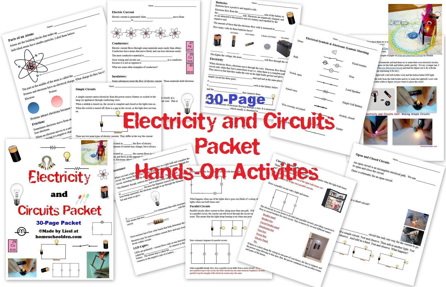Electricity And Circuits Stem Unit Do You Know What A