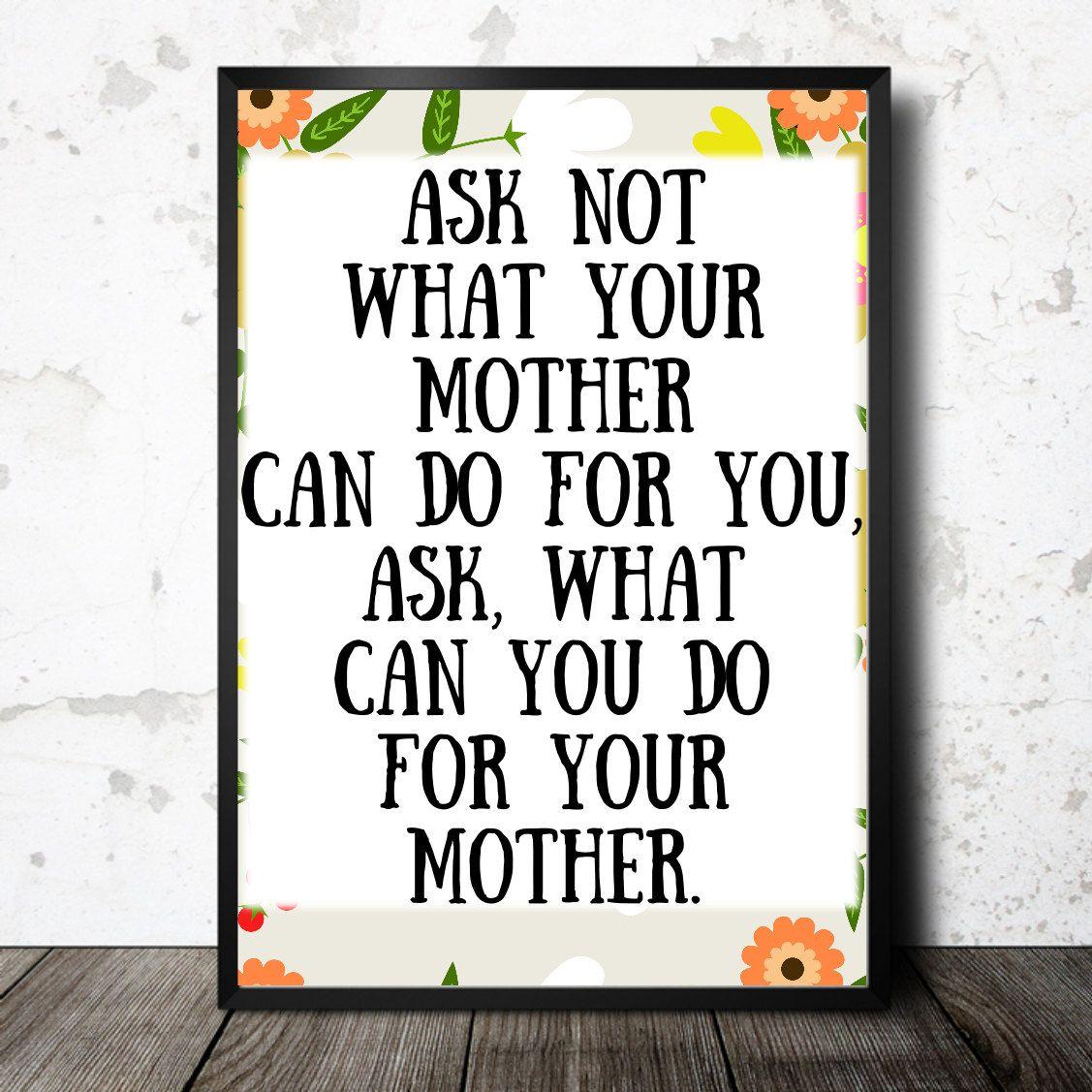 Funny mothers day printable haha printable mom gift