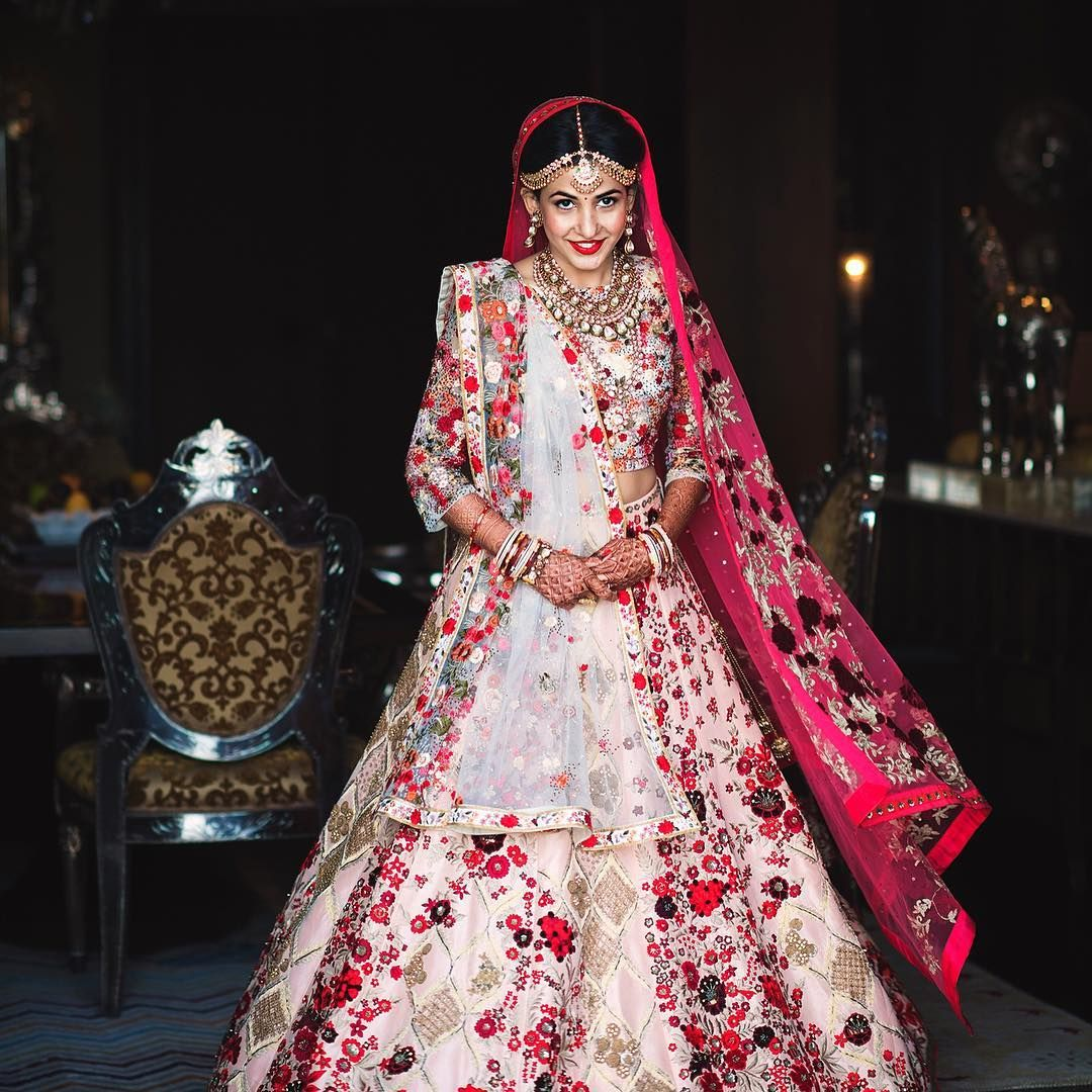 For her wedding riddhima mehta wanted an outfit that included