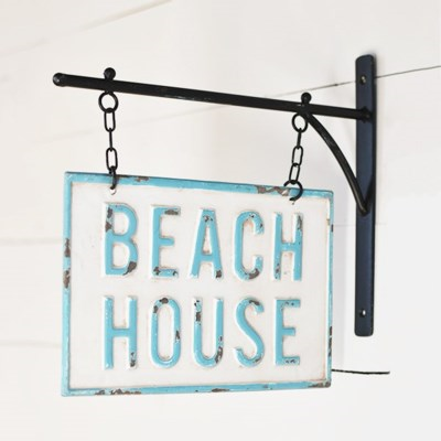 Photo of Hanging Beach House Sign
