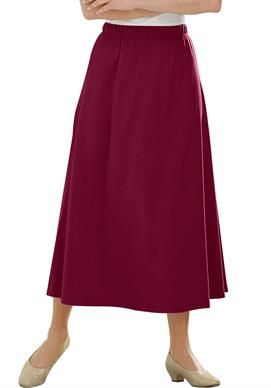 59b15b04d2 7-Day knit A-line skirt by Only Necessities®   Plus Size Skirts   Woman  Within