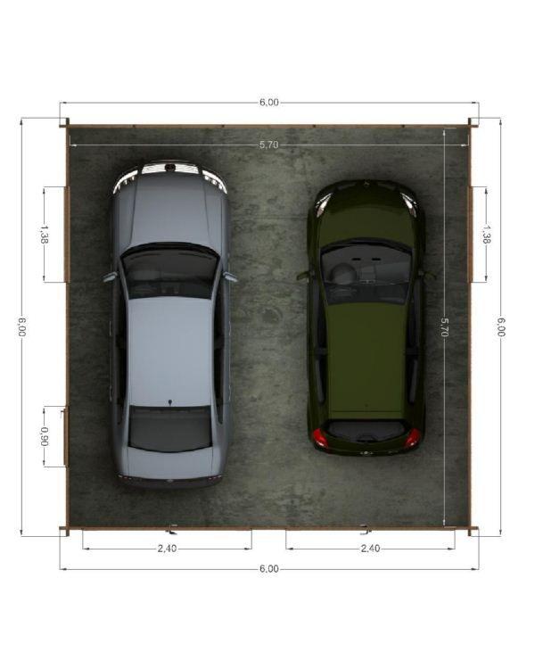 Plano garaje buscar con google planos estudio graje for Garajes originales