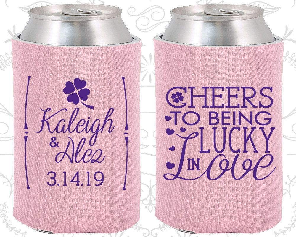 Cheers to Being Lucky in Love, Wedding, Lucky in Love Wedding Favors ...
