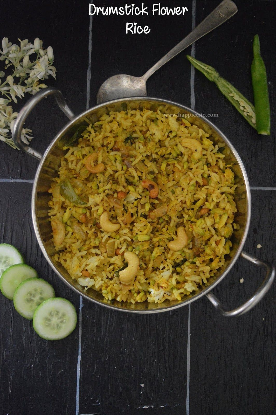 Drumstick Flowers Pulao Murunga Poo Sadham Moringa Flowers Rice Cook With Sharmila Recipe Delicious Healthy Recipes Cooking Indian Cooking Recipes