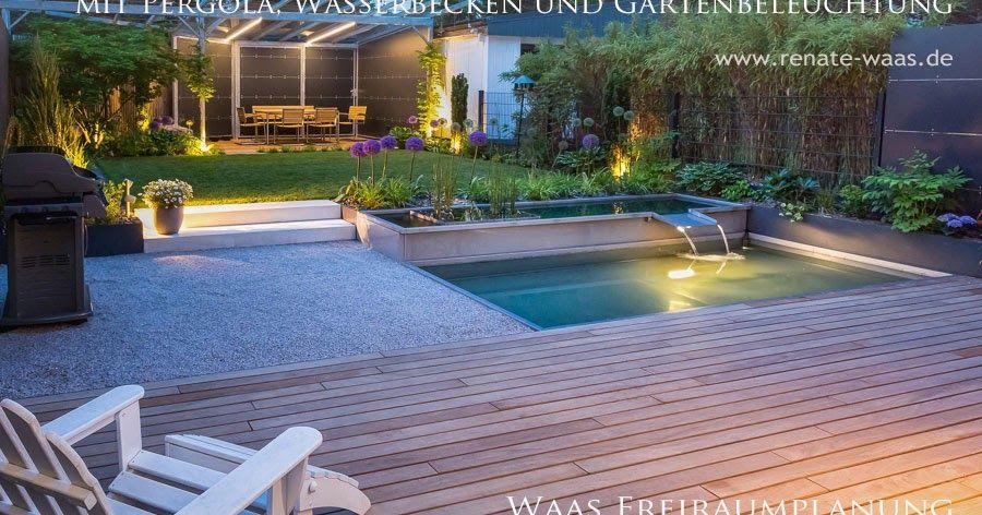 Moderne Garten Stadtgarten Gartenplanung Munchen Endlich Kann Ich Ein Paar Neue Bilder Von Garten Zeig Wasserbecken Garten Moderner Garten Gartengestaltung