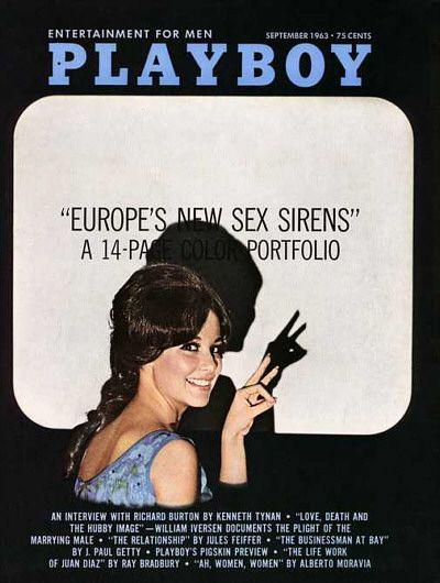 September 1963 Playboy Playboy Back Issues Centerfolds Playboy