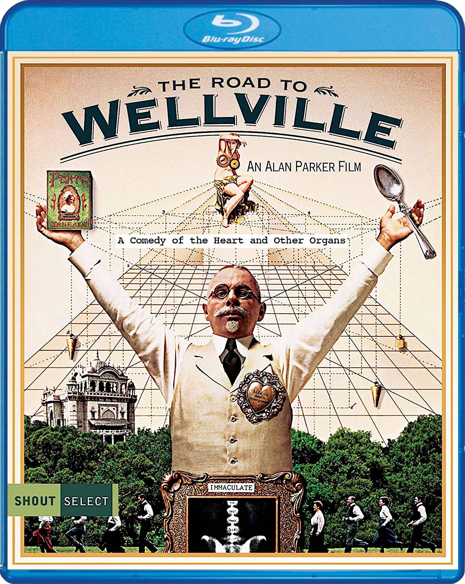 THE ROAD TO WELLVILLE BLURAY SPINE 110 (SHOUT SELECT) in