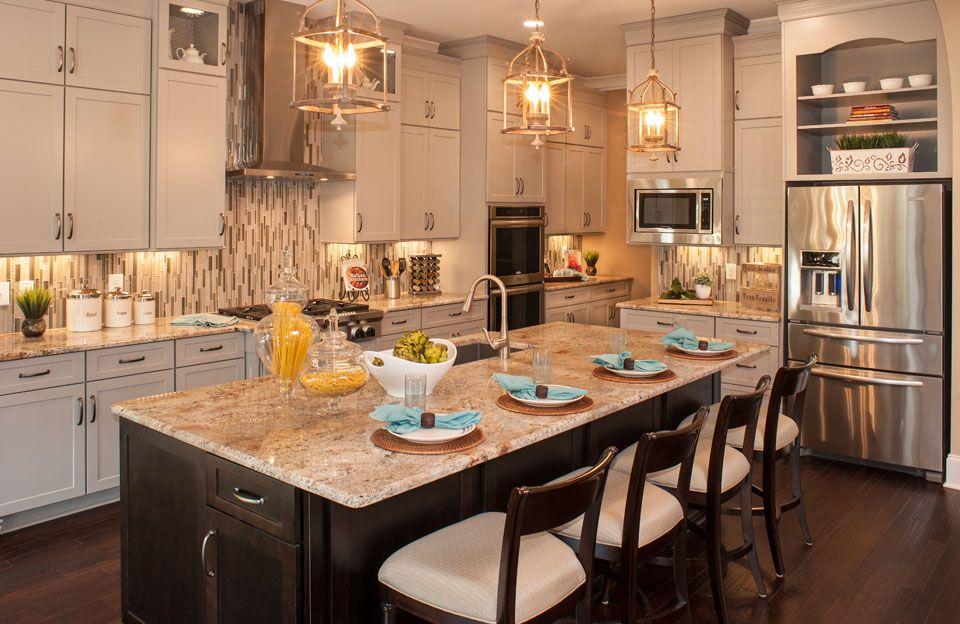 Weatherford Estates Franklin Tn Log Home Kitchens Home Kitchens New Home Source
