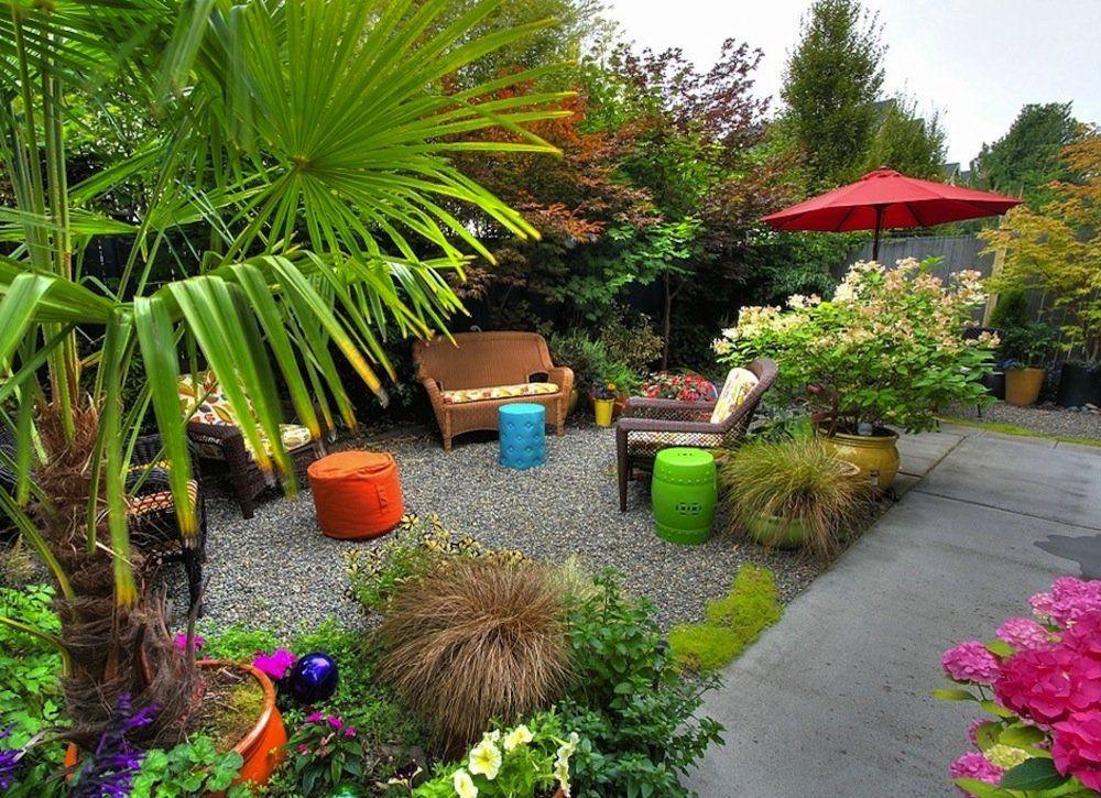 14 Ways To Make Your Small Yard Seem Big Small Backyard