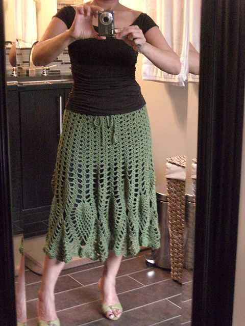 Ravelry: Project Gallery for Walking After Midnight pattern by Doris ...