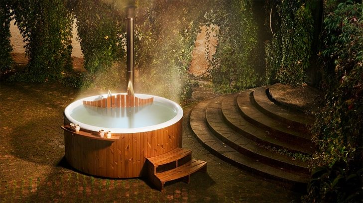 Hot tubs uk from skargards swedish woodfire d hot tubs