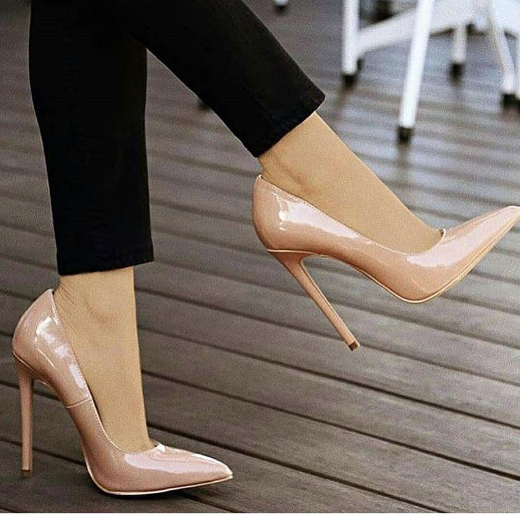 Pin By Dominika On S H O E S Heels Stiletto Heels Fashion High Heels