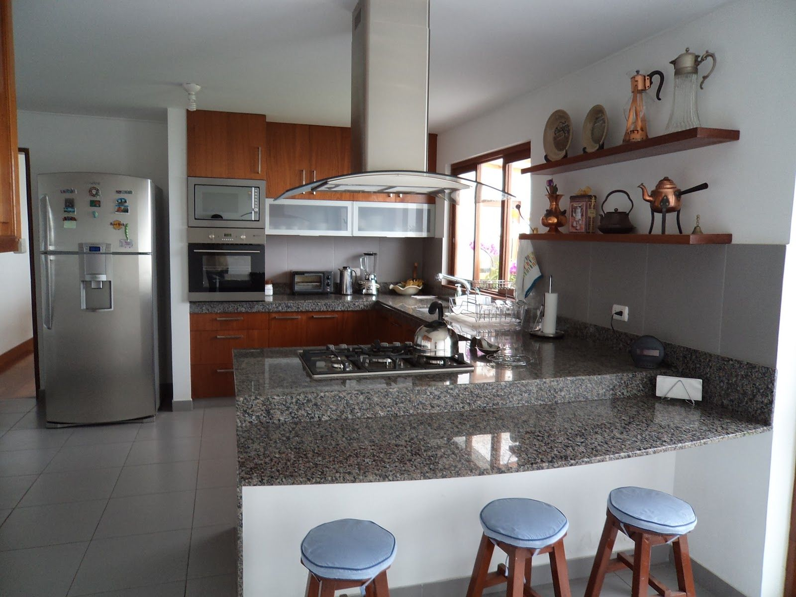 Porcelanato Para Cocinas Pequenas Kitchen Hotel Floor Mexican Kitchens