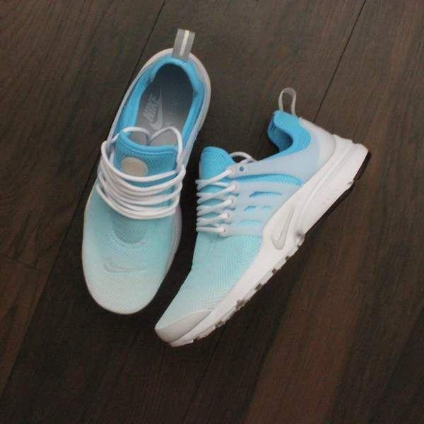 68a8c5e4c8ceed TheShoeCosmetics - Nike Presto Blue Custom Sneakers - Ombre Design