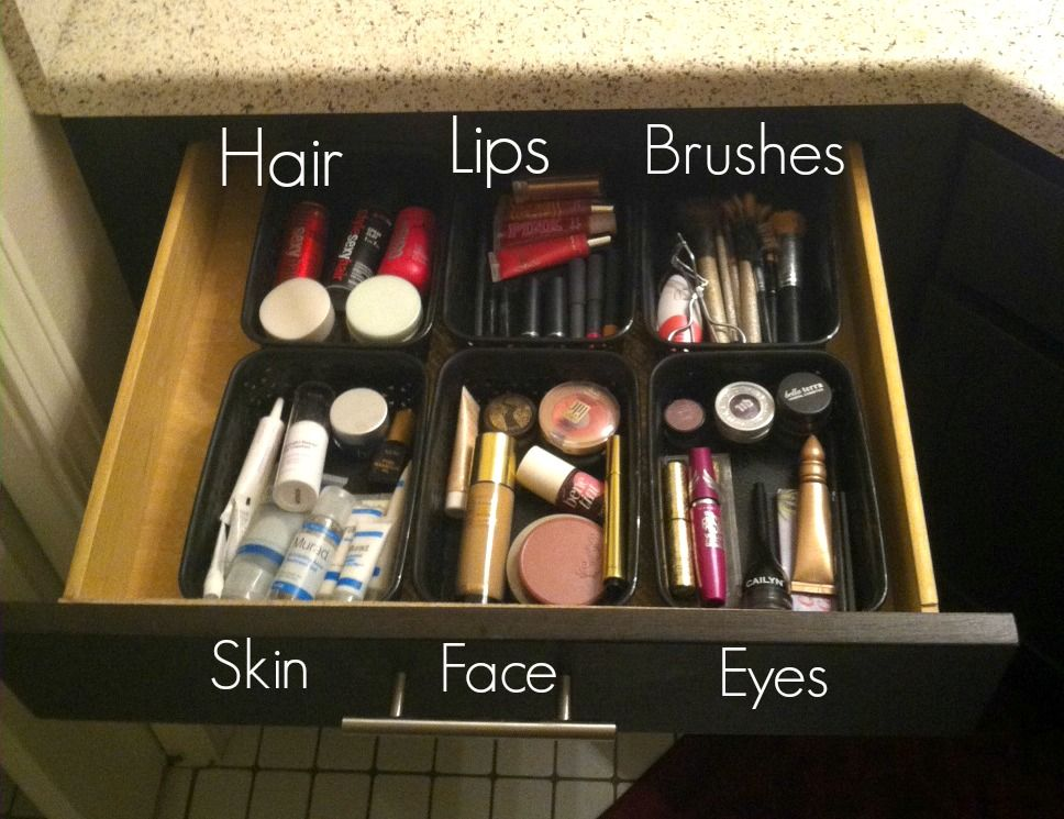 Makeup Organization, Affordable, Easy Way to Organize Your