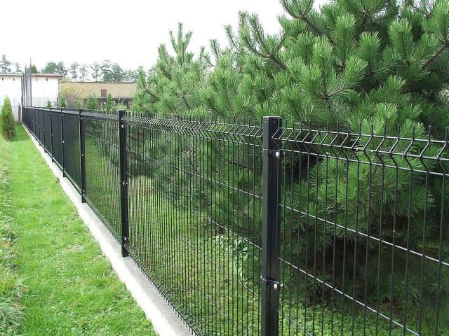 Wire fencing mesh fence landscapes pinterest