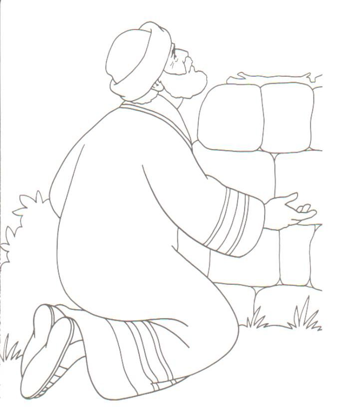 Abram Coloring Pages Kids Bible Object Lessons Sunday School