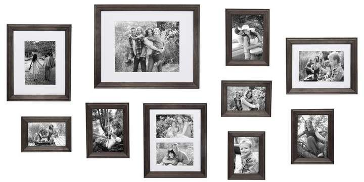 Three Posts 10 Piece Sturminster Gallery Picture Frame Set Picture Frame Gallery Gallery Wall Kit Picture Frame Sets