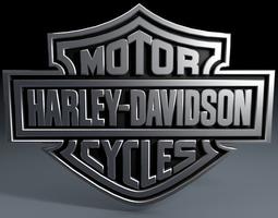 harley davidson logo 3d model harleydavidsonbreakout harley
