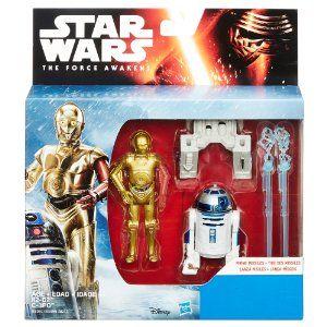 2 Star Wars B3961AS0 3.75 pouces Mission Spatiale Figure Han Solo et princesse LEIA