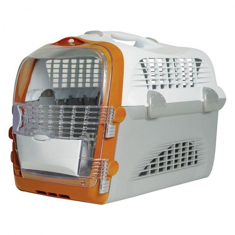 Pet Multi Functional Carrier White Open Top Hatch Transparent Front Door Clear Ebay Amazon Sale Cat Carrier Cat Crate Cat Pet Supplies