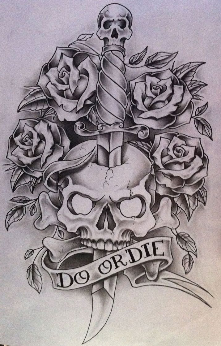 My Crazy Life Made With Three Skulls With One Skull Having A Hole In He Head The Results Of A Cra Tattoo Design Drawings Skull Coloring Pages Skulls Drawing