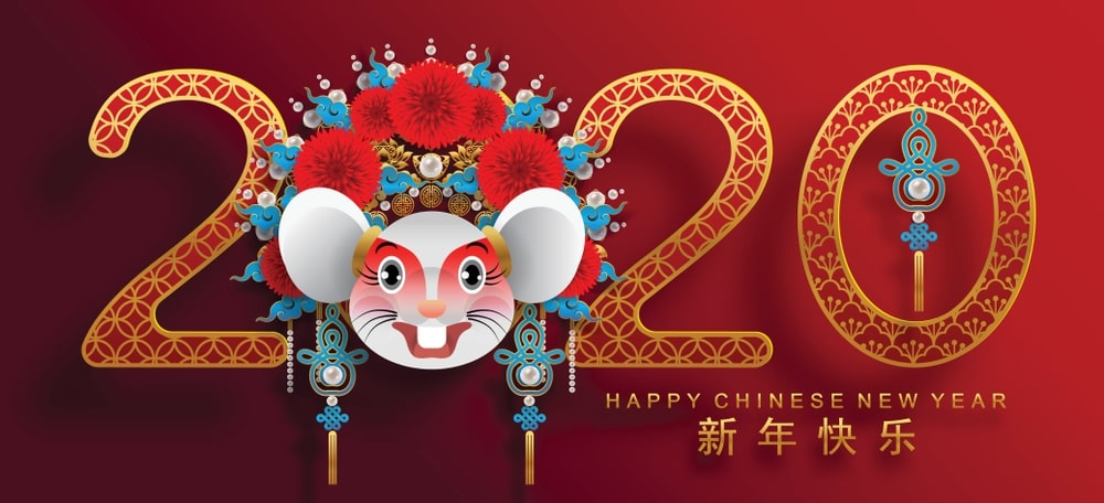 Chinese New Year 2020 Zodiac.Happy Chinese New Year 2020 Zodiac Sign Year Of The Rat