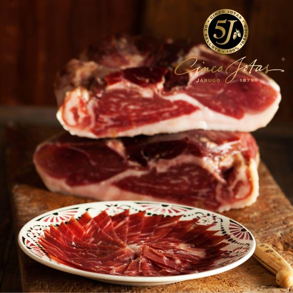 Cinco Jotas Boneless 100 Iberico De Bellota Jamon Food Spanish Food Whole Ham