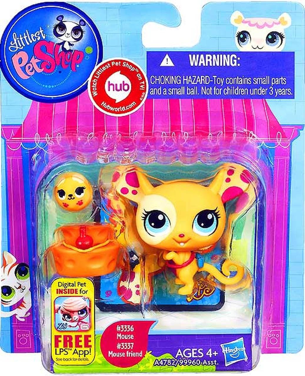 Littlest Pet Shop Mouse & Mouse Friend Figure 2Pack 3336