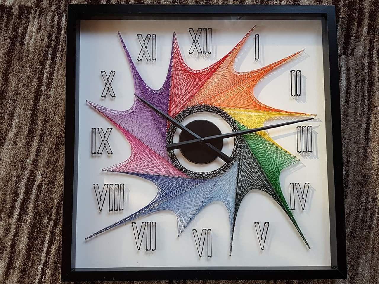 String Art Clocks