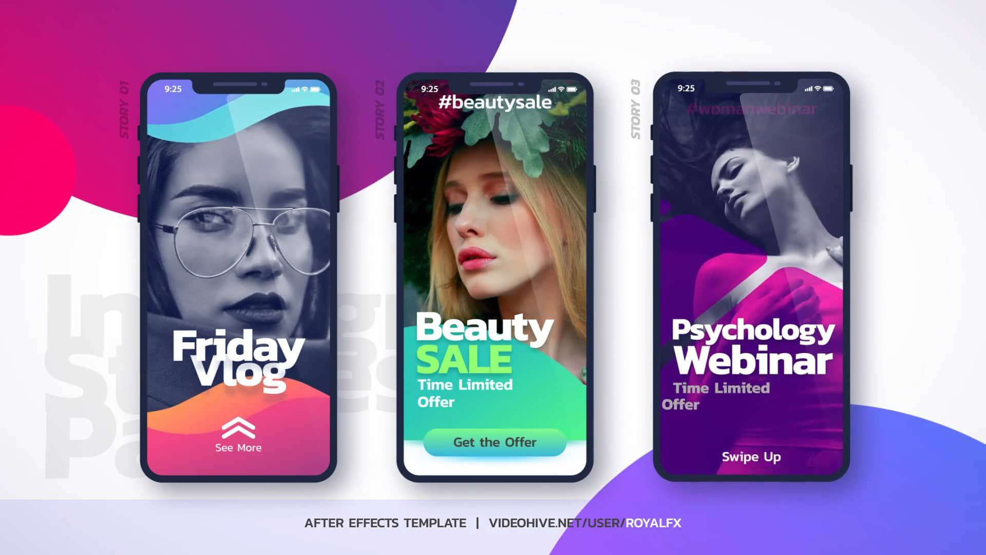 After Effects Template Instagram Stories On Vimeo Instagram Story Ads Instagram Story Instagram Story Template