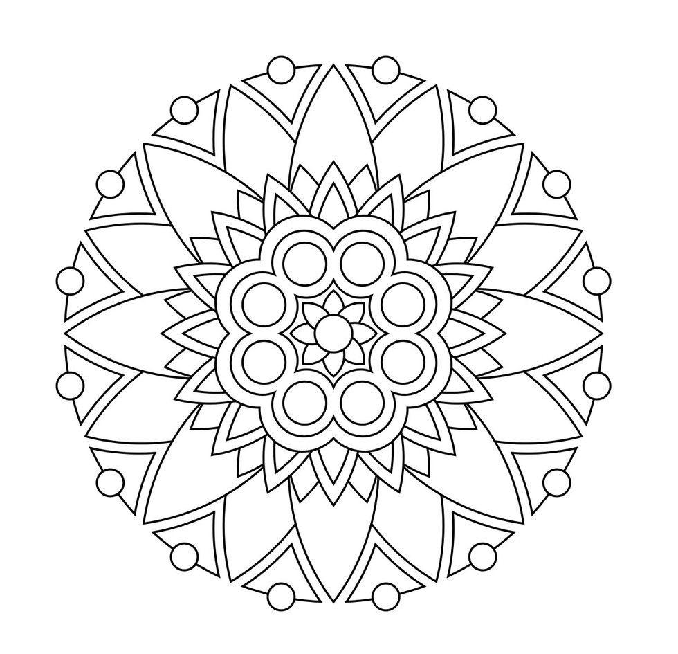 Mandala Ausmalbilder Mandalas Blumen Muster Malvorlagen Zum Ausmalen Mandala Malvorlagen Ausmalbilder Mandala Ausmalbilder