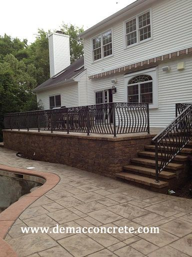 Raised Patio Need Railing   Google Search