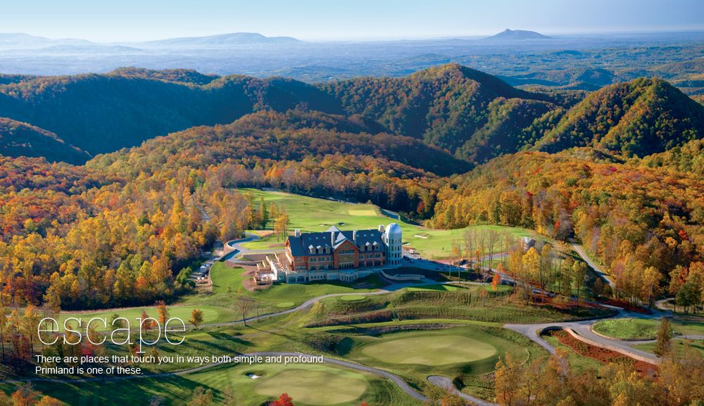 Luxury Blue Ridge Mountain Resorts Primland Hotel In Virginia