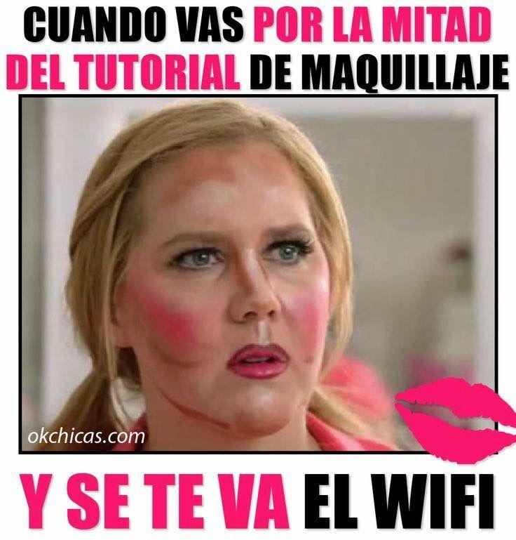 Pin on En español | Funny memes, Makeup Humor, Memes