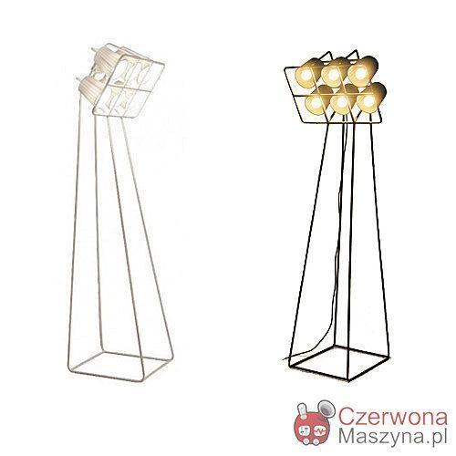 Lampa Podlogowa Seletti Multilamp Biala Lamp