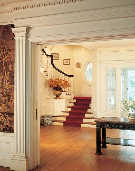 Colonial Revival Interior Design Colonial House Interior