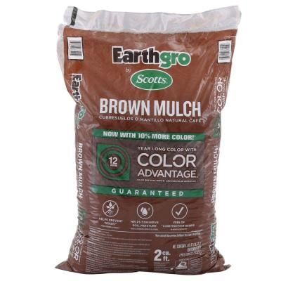 Scotts Earthgro Mulch Only 2 Bargains And Deals Brown