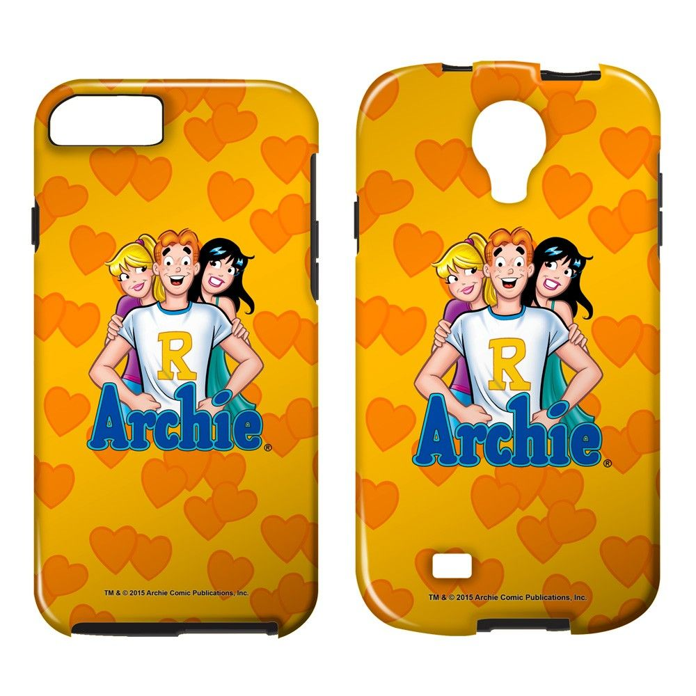 """Checkout our #LicensedGear products FREE SHIPPING + 10% OFF Coupon Code """"Official"""" Archie Comics/Love Triangle - Smartphone Case - Tough/Vibe - Archie Comics/Love Triangle - Smartphone Case - Tough/Vibe - Price: $35.99. Buy now at https://officiallylicensedgear.com/archie-comics-love-triangle-smartphone-case-tough-vibe"""