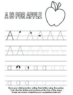 Printables Pre K Alphabet Worksheets 1000 images about prek homework on pinterest file folder activities folders and preschool alphabet