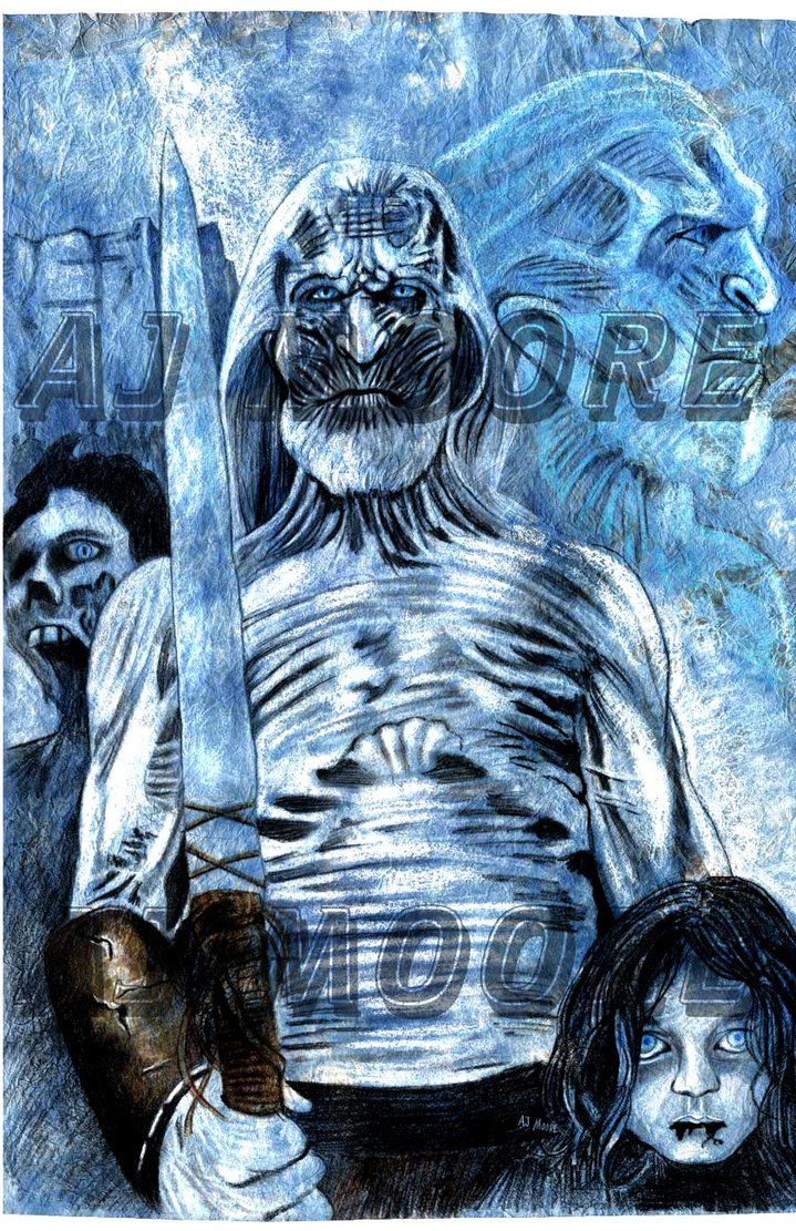 Dead king beyond the wall by AJ Moore Game of thrones