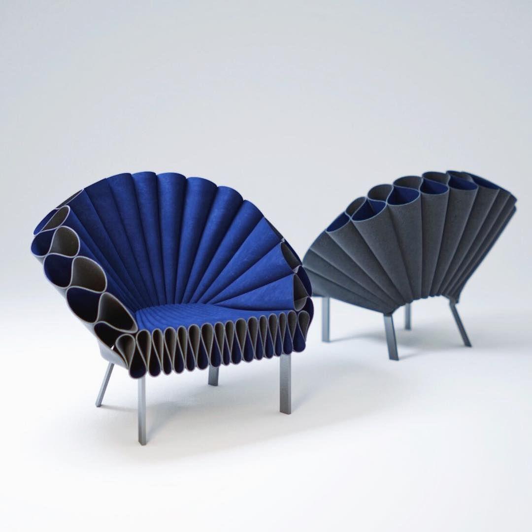 più colori come trovare scegli ufficiale Peacock Chair by Dror Bershetrit for Cappellini chair design ...