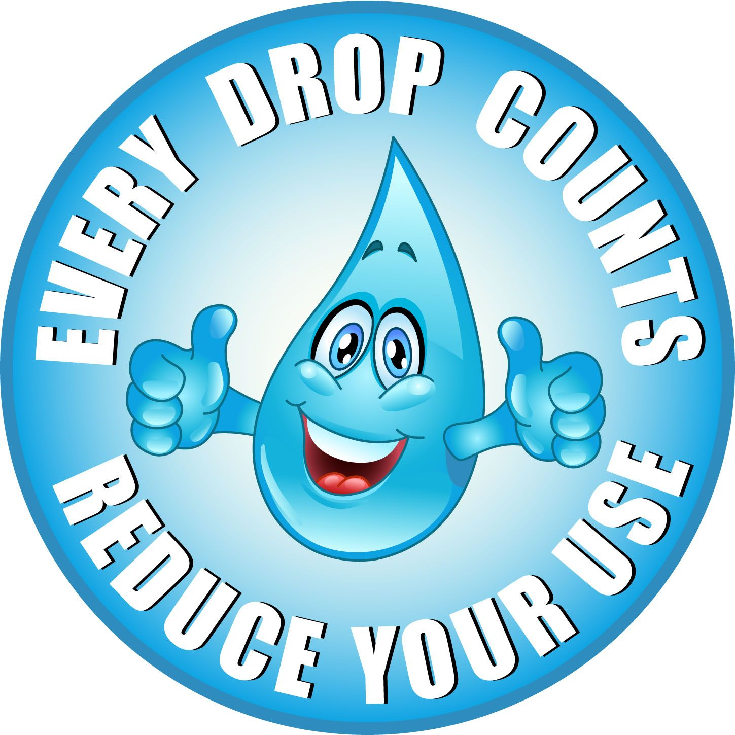 Water Droplet Water Conservation Poster Water Conservation Save Water Poster
