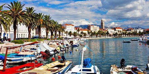 Split, Croatia Considered the Nice of the Adriatic Sea.