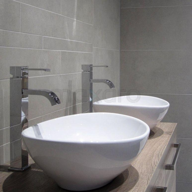 Landelijk badkamermeubel, meubel met waskommen badkamer | Landelijke ...