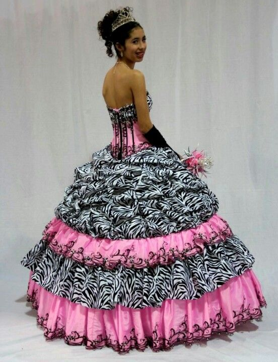 5d3e511cb3 Zebra print quince dress