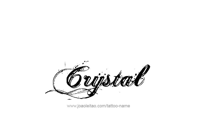 Crystal Name Tattoo Designs Name Tattoo Crystal Names Name Tattoo Designs