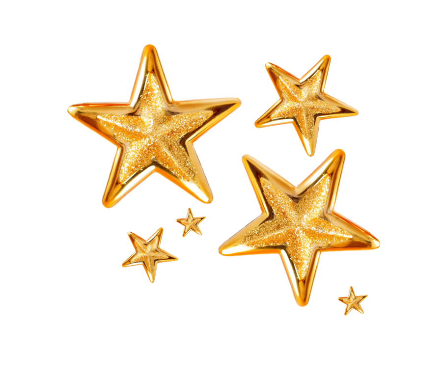 gold stars png by Melissatm on DeviantArt Gold stars