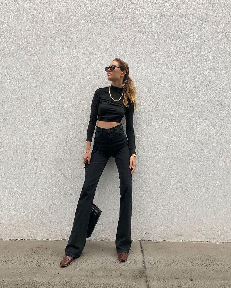 Instagram in 2020 Dress like a parisian, Bootcut jeans